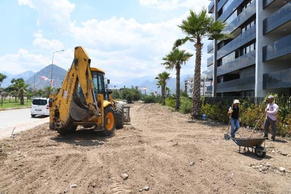 Konyaaltı Liman'a yeni park