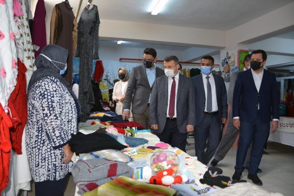 Korkuteli'de HEM sergisi açıldı