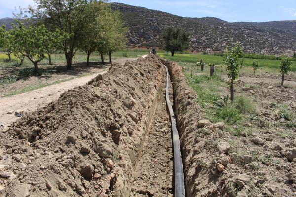 Korkuteli'nde üç mahallenin içme suyu sorunu çözüldü
