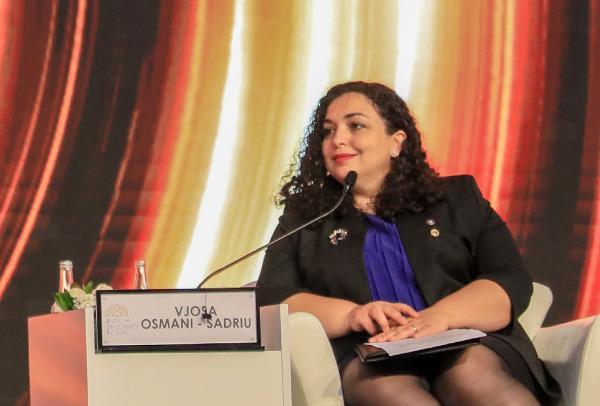Kosova Cumhurbaşkanı Osmani: Genç bir kadın politikacı olarak çok zorluklarla karşılaştım