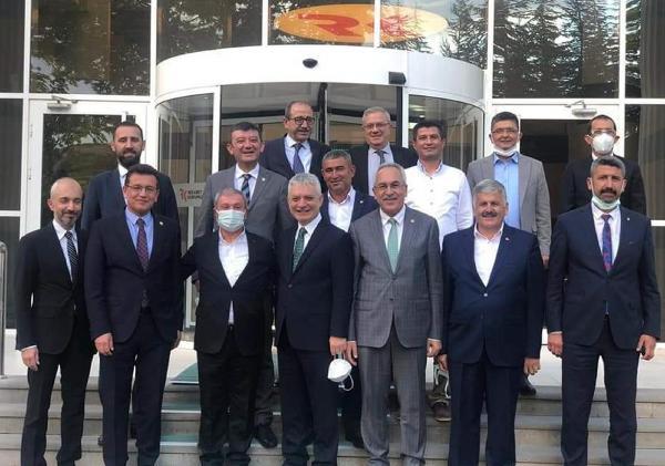 Kumluca heyetinden Ankara ziyaretleri