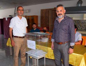Kumluca'da İLKSAN seçimleri yapıldı