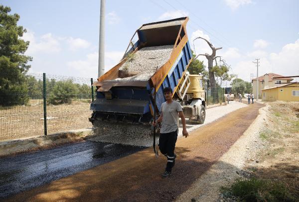 Kurşunlu Mahallesi'ne sathi asfalt