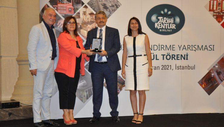 Manavgat Belediyesi'ne Kent müzesi ödülü