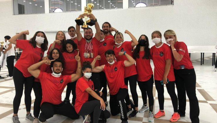 Manavgat Gençlik ve Spor Kulübü Türkiye Şampiyonasına damga vurdu