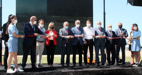 Manavgat Halk Plajı törenle açıldı