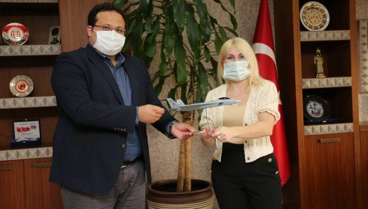 Milli Muharip Uçak'ın yazılımları Akdeniz Üniversitesi Antalya Teknokent'te yapılacak