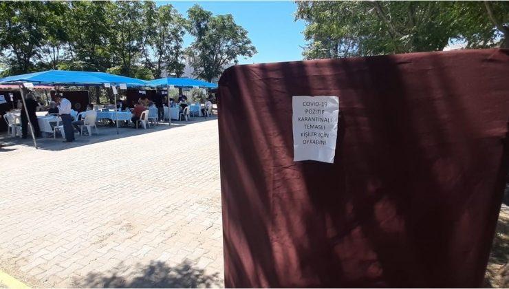 Muhtarlık seçiminde Covid-19 karantinasında bulunan kişiler için özel sandık