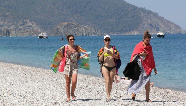 (Özel) Antalya'nın dünyaca ünlü turizm beldesi Çıralı'da normalleşme hareketliliği