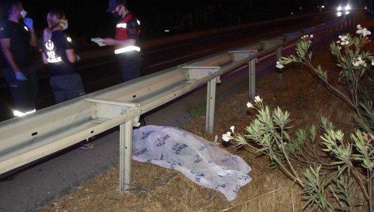 (ÖZEL) Ters yöne giren motosiklet sürücüsü göz göre göre ölüme gitti