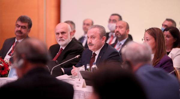 Şentop: Türkiye'yi bölge dışı aktörgibi göstermeye çalışanlarapaye verilmemeli