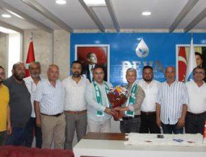 Serik Belediyespor'dan siyasi partilere ziyaret