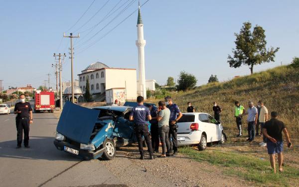 Serik'te kaza: 2 yaralı