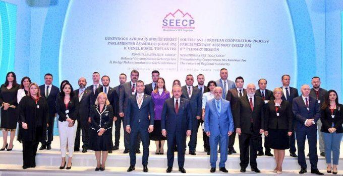 """TBMM Başkanı Şentop: """"Bölgesel iş birliğini ve diyaloğu güçlendirmeyi hedefliyoruz"""""""