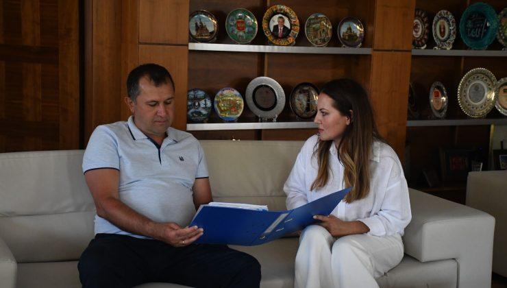 Truskavest Belediye Başkan Yardımcısı Kotyk, Kemer Belediye'sinde