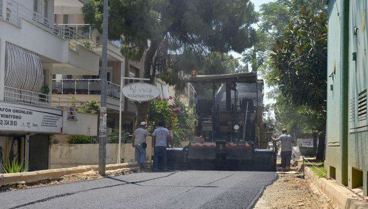 Üçgen'de 10 bin ton asfalt kullanılacak