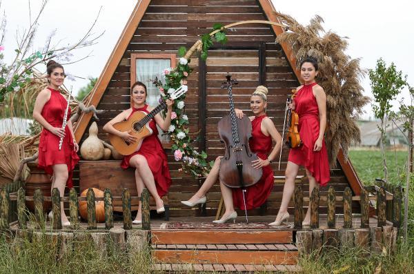 Vinello kadınlarından müzik ziyafeti