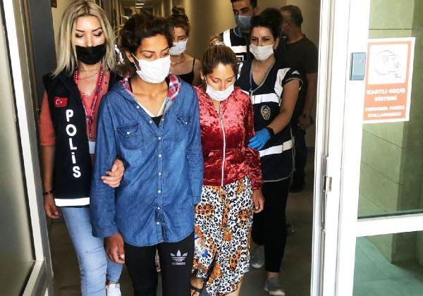 Ziynet eşyası ve para çalan 3 kadın tutuklandı