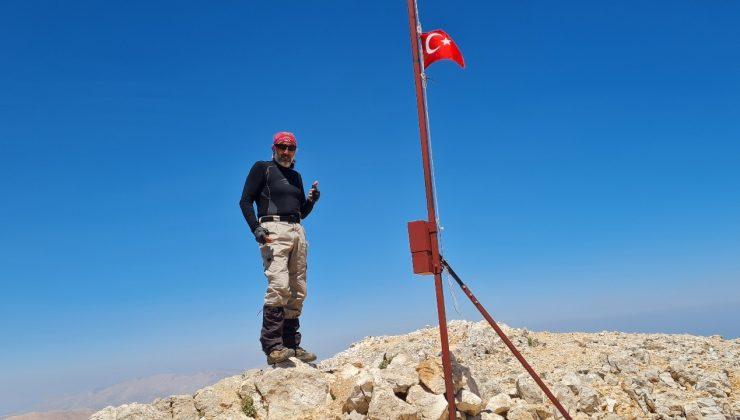 3 bin 70 metrelik dağa solo tırmanış