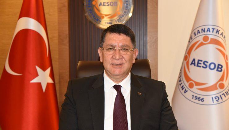 """AESOB Başkanı Dere: """"Perakende sektöründe acilen yasal düzenlemeye ihtiyaç var"""""""