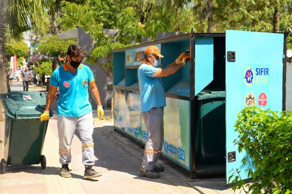 Alanya Belediyesi'nden 'Sıfır Atık' çalışmaları
