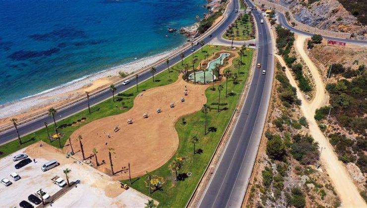 Alanya yeni park ve sosyal alanlara kavuşuyor