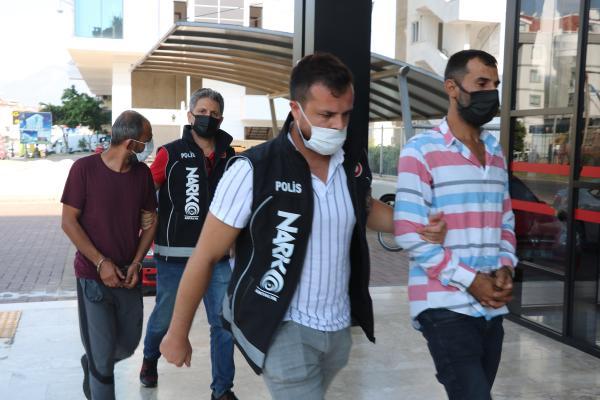 Alanya'da uyuşturucu operasyonu: 6 gözaltı