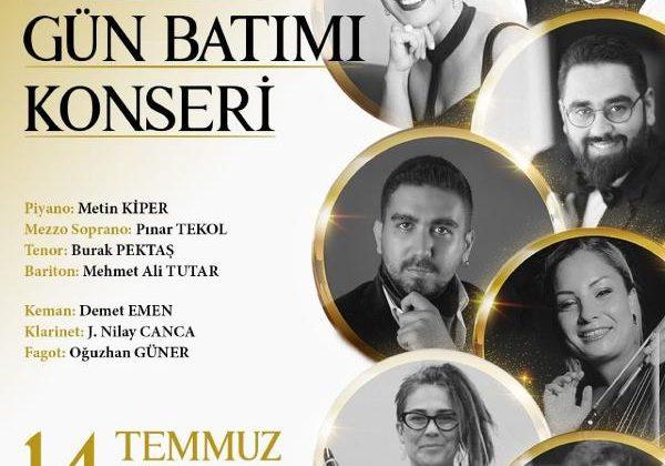 Antalya DOB'dan gün batımı konseri