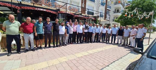 Antalya Şoförler Odası'nda bayramlaşma