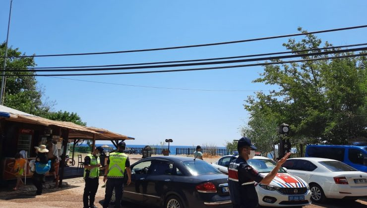 Antalya'da havadan ve karadan denetimde 225 sürücüye 160 bin TL ceza