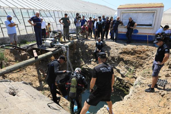 Antalya'da kayıp Ecrin'i arama çalışmaları sürüyor (2)