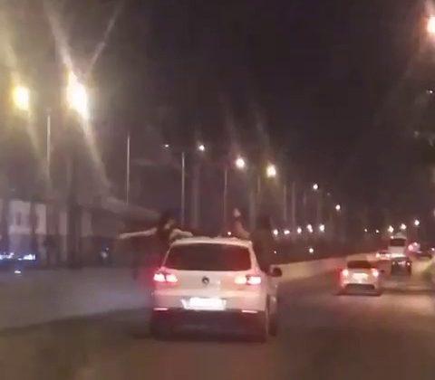 Antalya'da trafikteki tehlikeli yolculuklar pes dedirtti