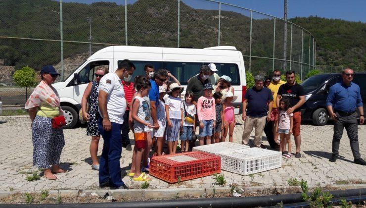 Antalya'da yerleşik yabancılar doğaya kınalı keklik saldı