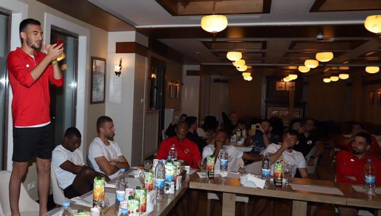 Antalyaspor'da 12 genç futbolcu için 'Çaylaklar Gecesi'