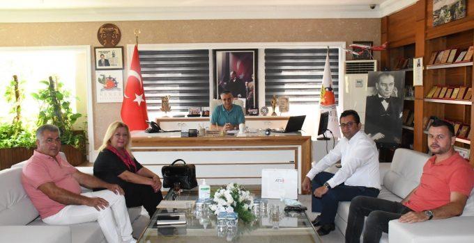ATSO, Topaloğlu ile Kemer'deki korsan araç kiralama ofislerini görüştü