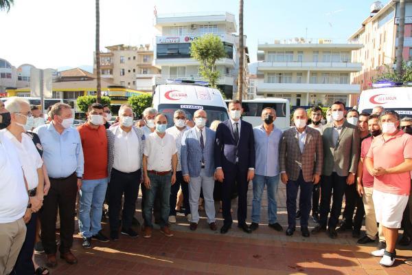 Bakan Çavuşoğlu, Alanya'da iki ambulansın devir törenine katıldı