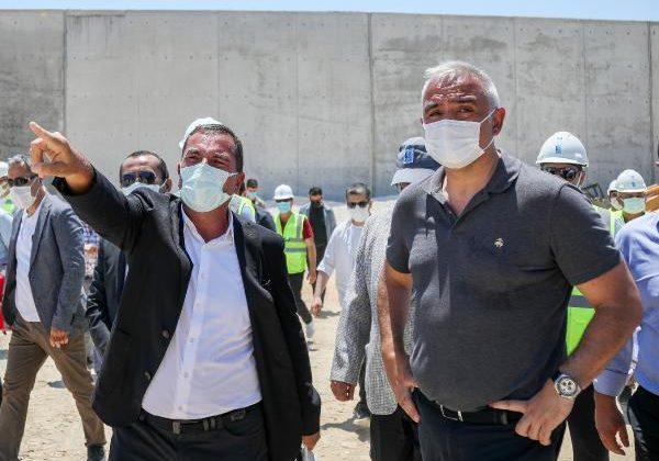 Bakan Ersoy: Belek'te 50- 60 yıl arıtma sorunu olmayacak