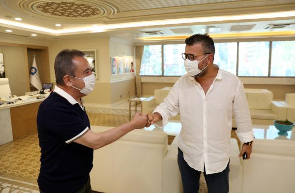 Başkan Böcek'ten Antalyaspor'a tam destek sözü