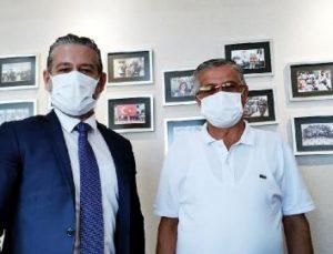 Başkan Topaloğlu, Antalya Havalimanı Müdürü Varol'u ziyaret etti