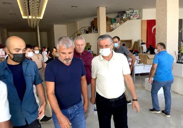 Başkan Topaloğlu Manavgat'ta