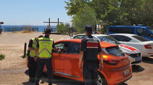 Bayram tatili yolunda 225 sürücüye 160 bin lira ceza