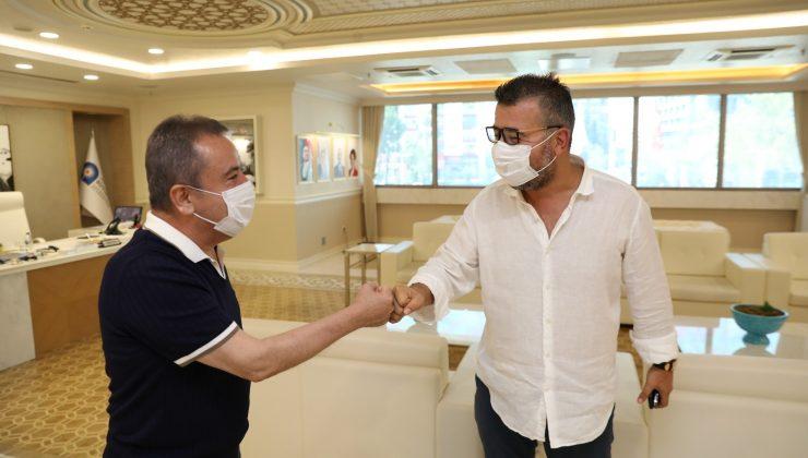 Böcek'ten Antalyaspor'a tam destek sözü
