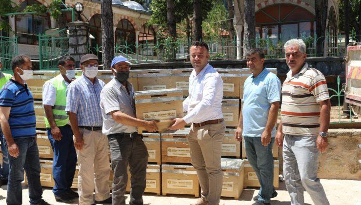 Büyükşehir'in 'Köyde Hayat Var' projesi  İbradılılarla buluştu