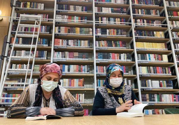 Cemil Meriç Kütüphanesi, 70 günde 50 bin kişiyi ağırladı