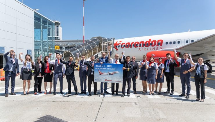 Corendon Airlines Basel Havaalanında