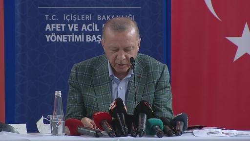 """Cumhurbaşkanı Erdoğan: """"Uçak konusundaki sıkıntıların ana sebebi THK'nın filosunu ve teknolojisini yenileyememiş olmasıdır"""""""