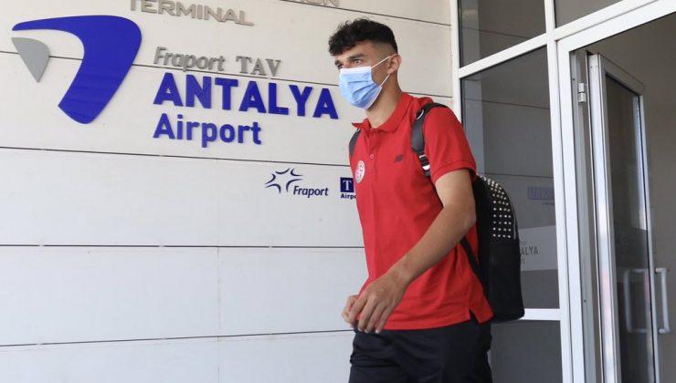 FT Antalyaspor 3 etap kamp çalışması için Erzurum'a gitti