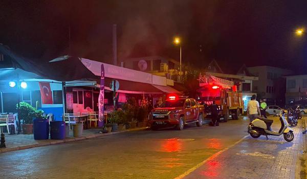 Gazipaşa'da restoran yangını