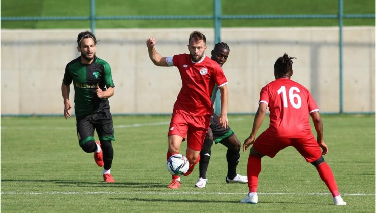Hazırlık maçı: FT Antalyaspor: 0- Kocaelispor: 1