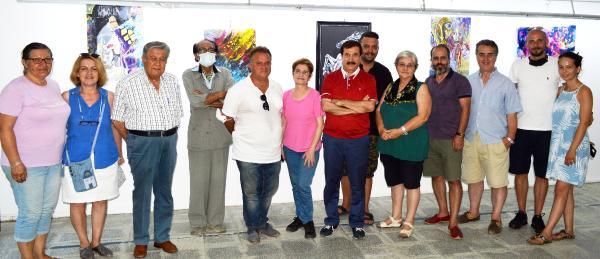 İstanbul'dan gelip sergi açtı